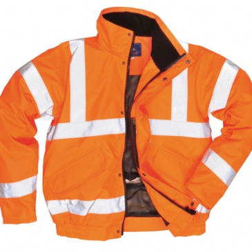 Portwest Hi-Vis Breathable Bomber Jacket RT62 (class 3)